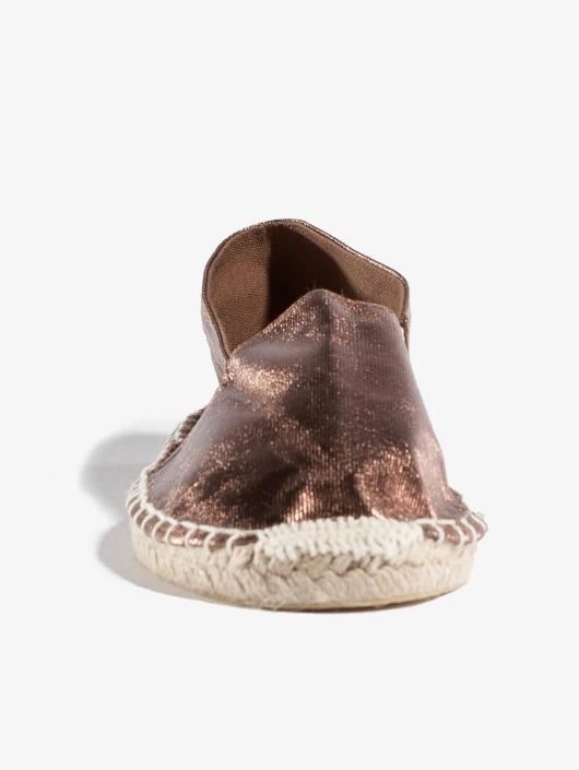 Pieces Badesko/sandaler Haisha brun