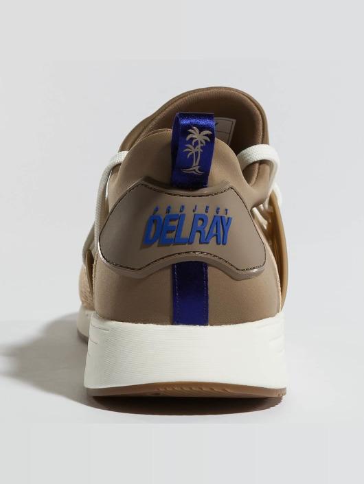Project Delray Sneakers Wavey bezowy