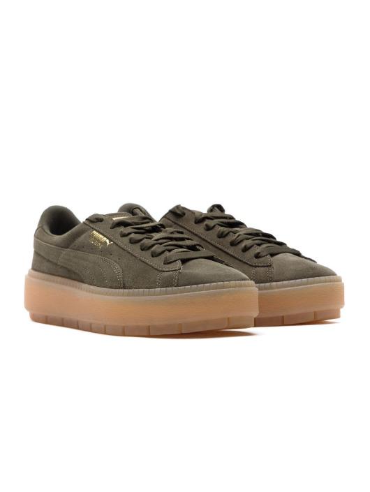 Puma Sneaker Suede Platform grün