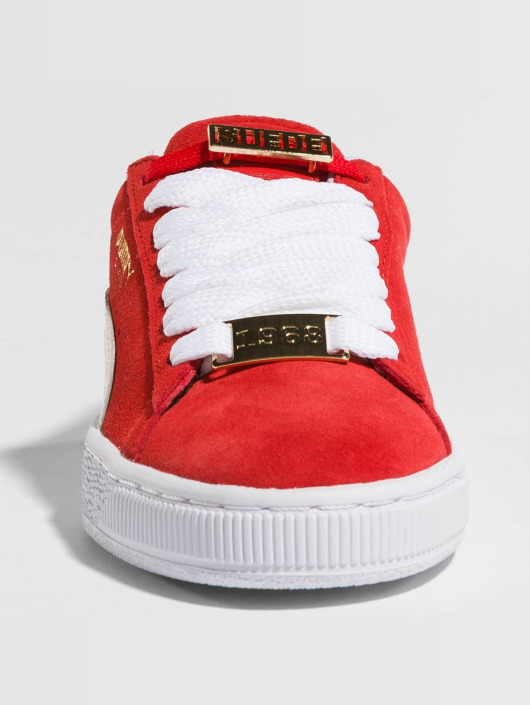 Puma sneaker BBoy Fabulous Suede Classic rood