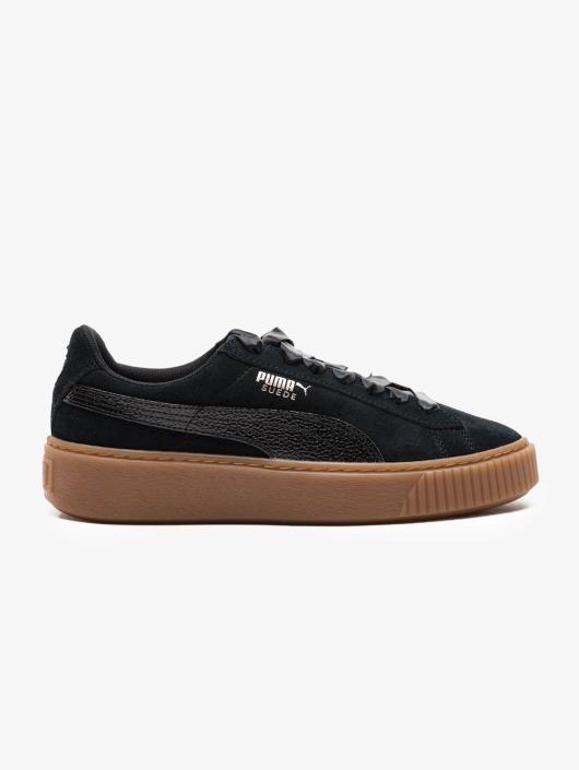 Puma sneaker Suede Platform zwart