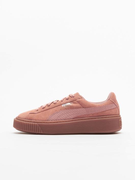 Puma Sneakers Basket Platform brown