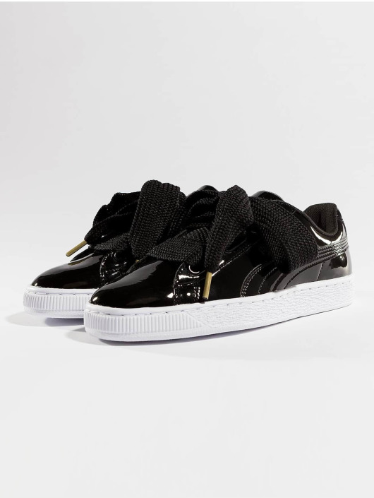 Puma Sneakers Basket Heart Patent czarny