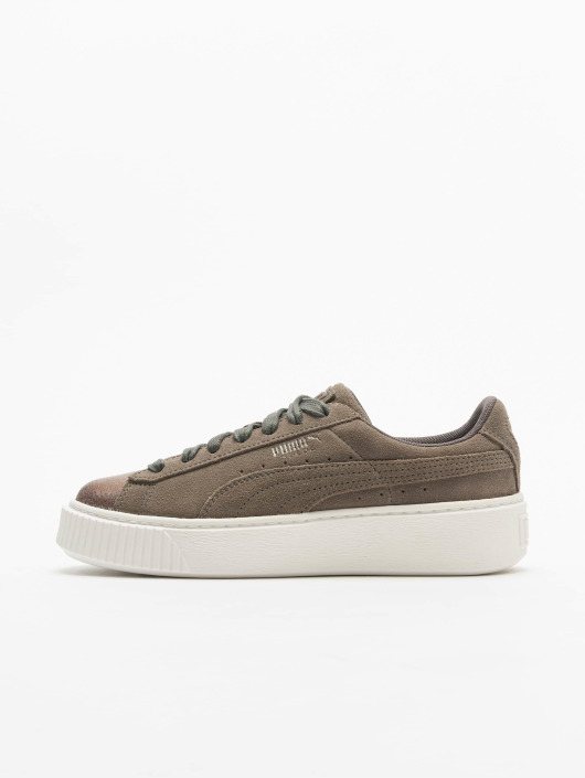 Puma Sneakers Suede Platform grey