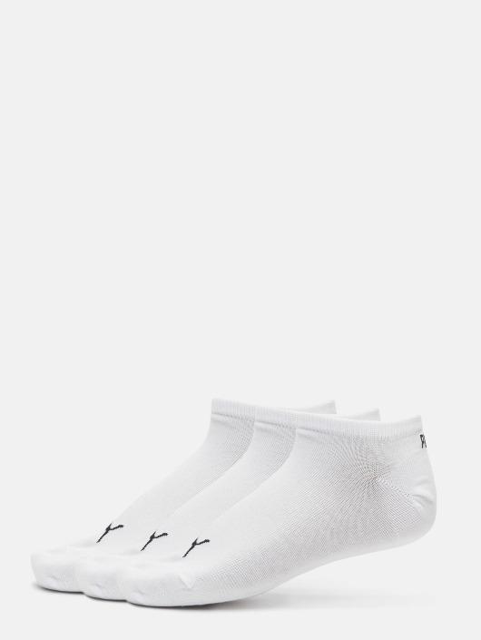 Puma Socks 3 Pack Sneaker Plain white