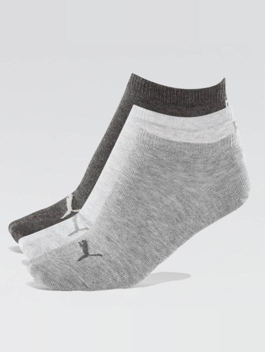 Puma Sokken 3 Pack Sneaker Plain grijs