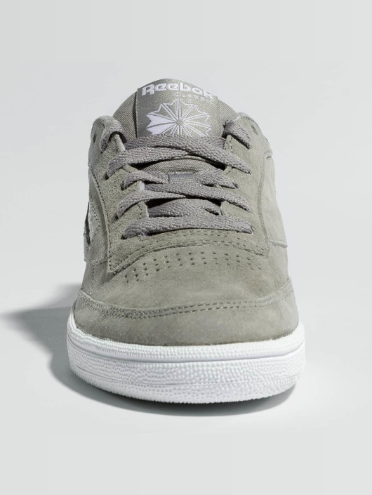 Reebok Сникеры Club C 85 Trim Nubuk серый