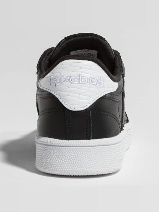 Reebok Сникеры Club C 85 Emboss черный