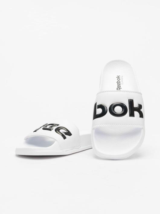 Reebok Badesko/sandaler Classic hvit
