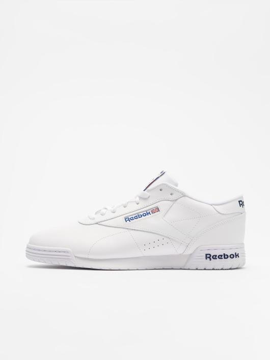 Reebok Baskets Exofit Lo Clean Logo blanc
