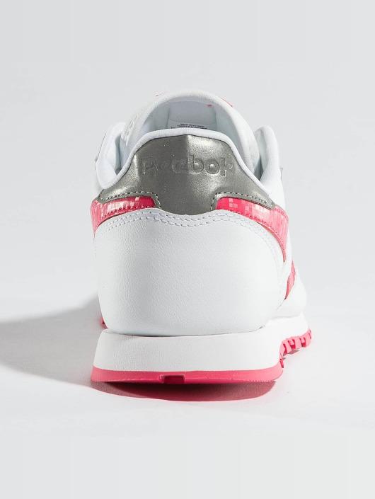 Reebok Baskets Leather Reflect blanc