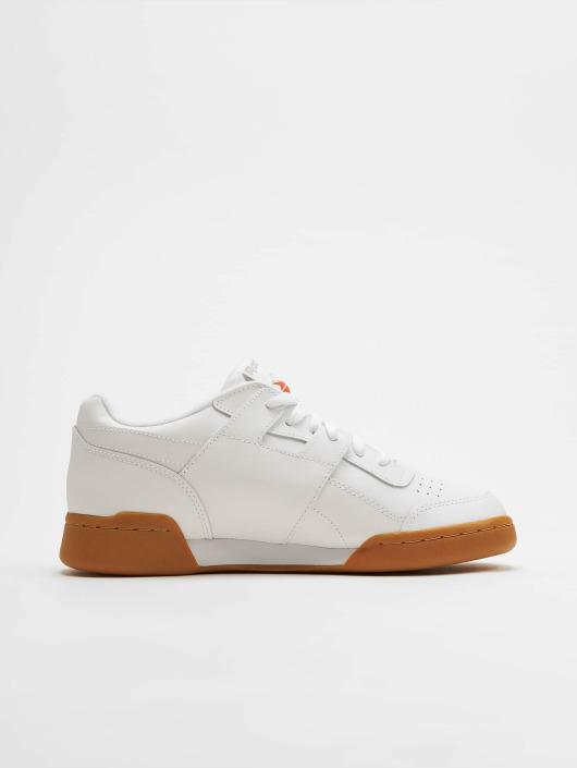 Reebok Baskets Workout Plus blanc