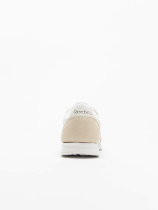 4318b98e09c57 Reebok Baskets Classic Nylon blanc