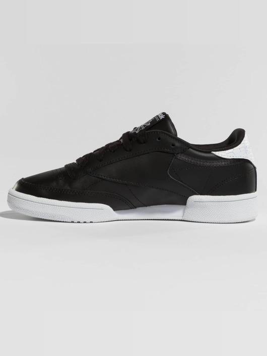 Reebok Sneaker Club C 85 Emboss schwarz