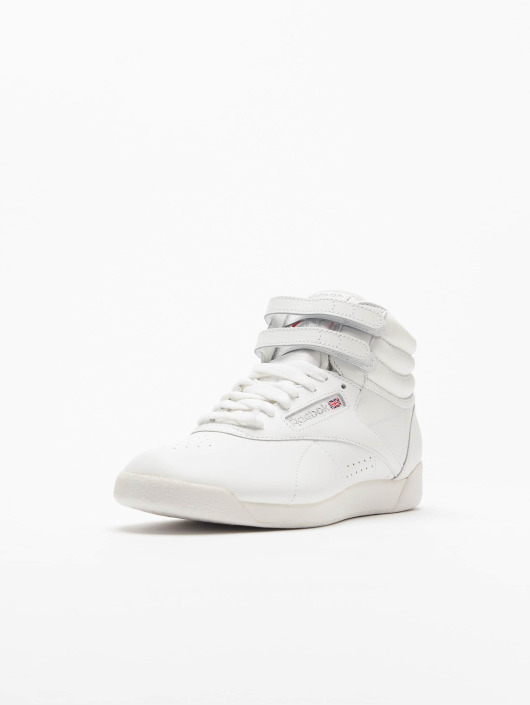 super cheap reasonably priced professional sale Reebok Freestyle Hi Sneakers White/Silvercolor