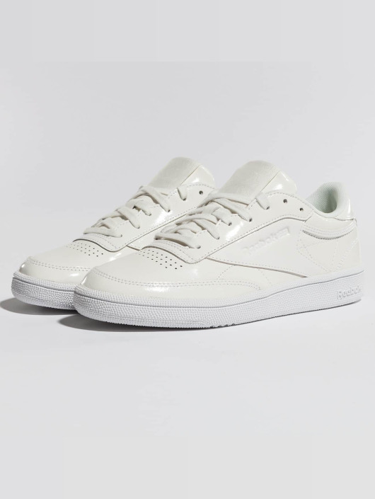 Sneaker 420449 Patent Wit Schoen Reebok Club C 85 In m0wvnON8