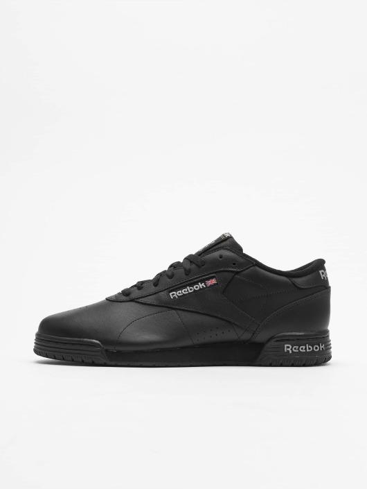 b68b70e7966 Reebok schoen / sneaker Exofit Lo Clean Logo in zwart 276226