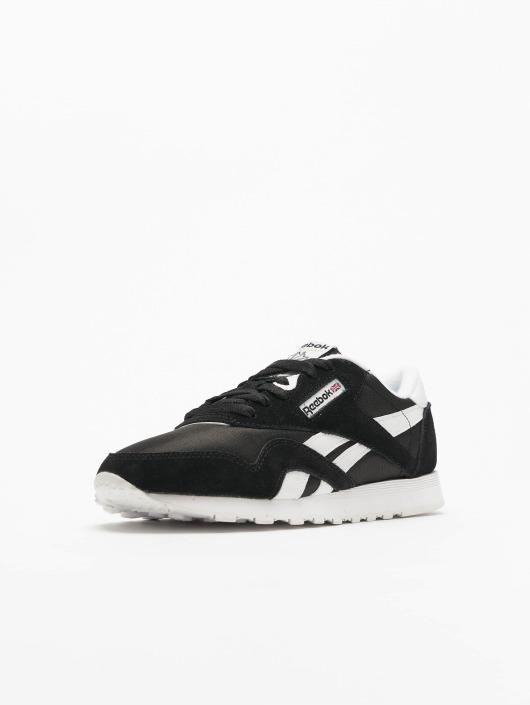 Reebok sneaker Classic Nylon zwart