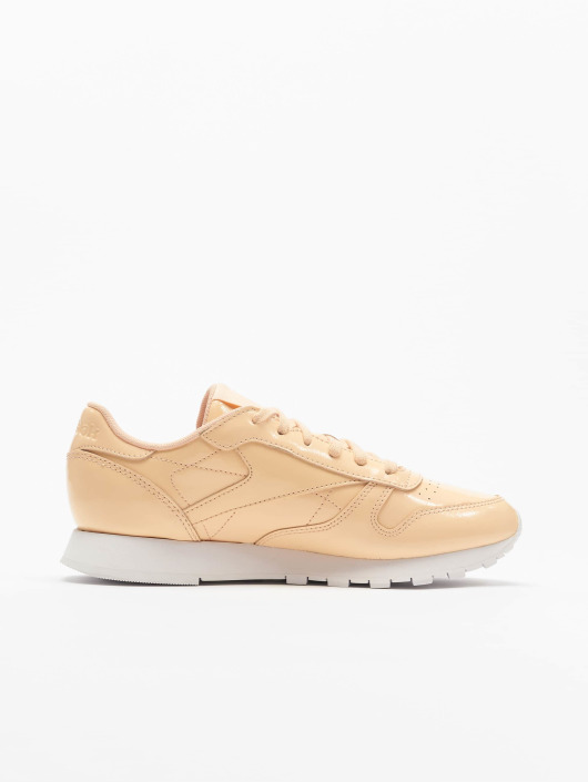 Reebok Sneakers Leather Patent bezowy