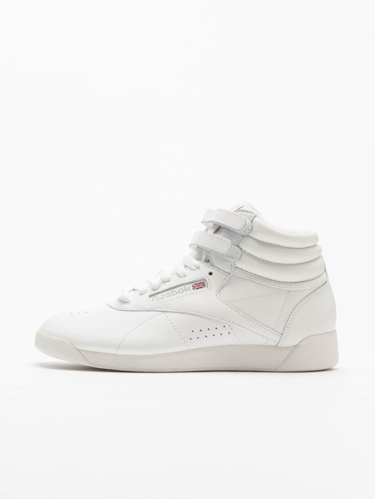 Reebok Sneakers Freestyle Hi Basketball Shoes bialy