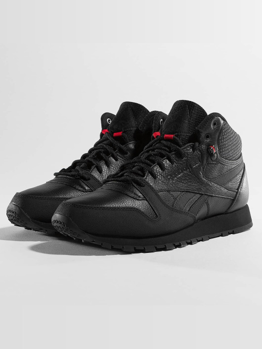 hot sale online 5d3af b7648 TWD Mid Sneakers 364993 svart Skor Reebok i Leather Classic w5XZnqI