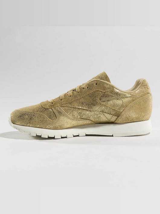 Reebok Tøysko Classic Leather Shimmer gull