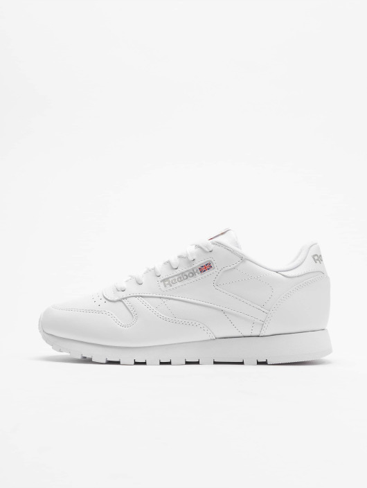 Reebok Tøysko CL Leather hvit