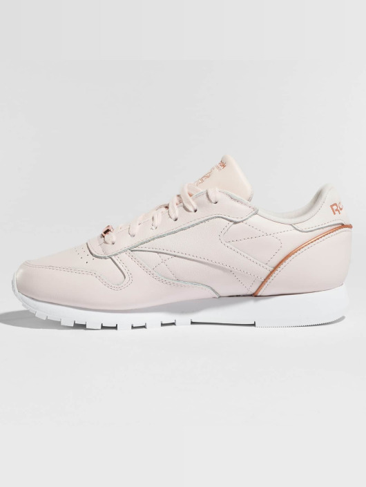 Reebok Tøysko Leather HW rosa