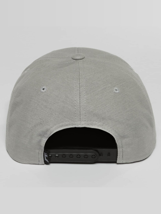 Reell Jeans Casquette Snapback & Strapback Suede gris
