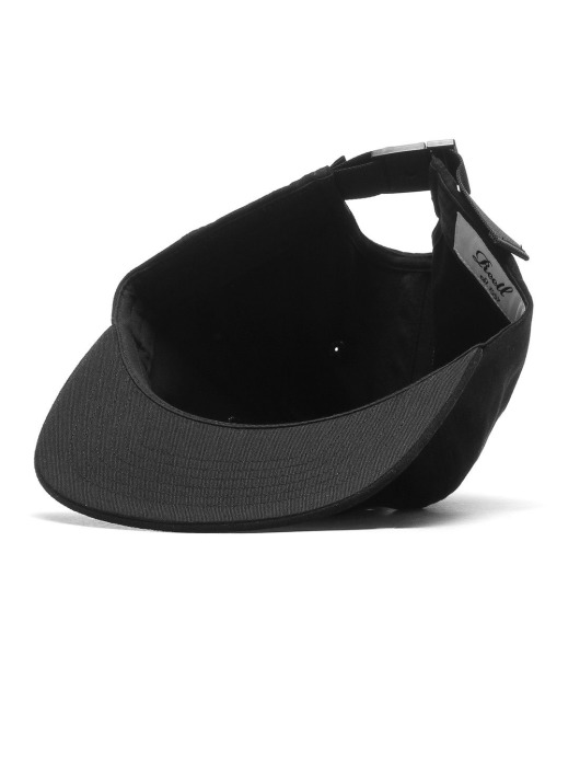 Reell Jeans Fitted Cap Flat czarny