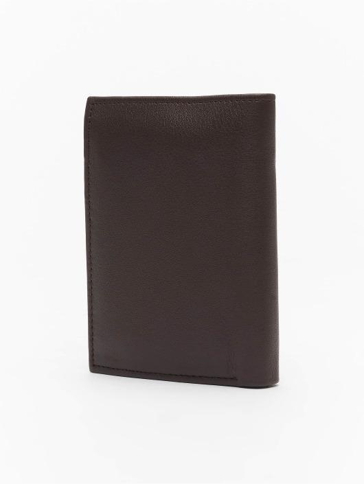 Reell Jeans Geldbeutel Trifold Leather braun