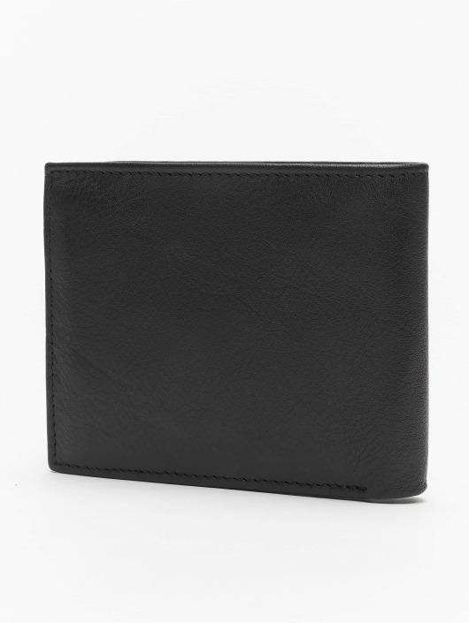 Reell Jeans Geldbeutel Button Leather schwarz