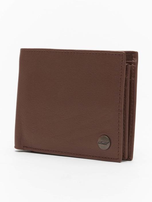 Reell Jeans Peňaženky Button Leather hnedá