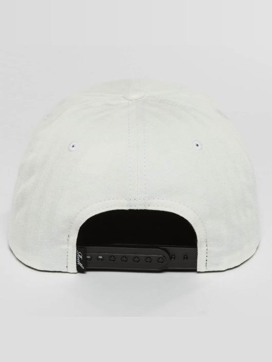 Reell Jeans Snapback Caps Suede hvit