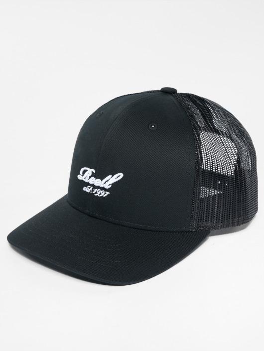 Reell Jeans Trucker Caps Curved svart