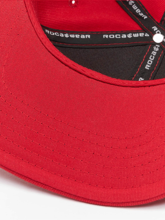 Rocawear Snapback Caps Big Logo red