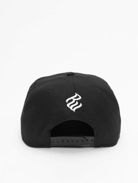 Rocawear Snapback Caps Big Logo svart