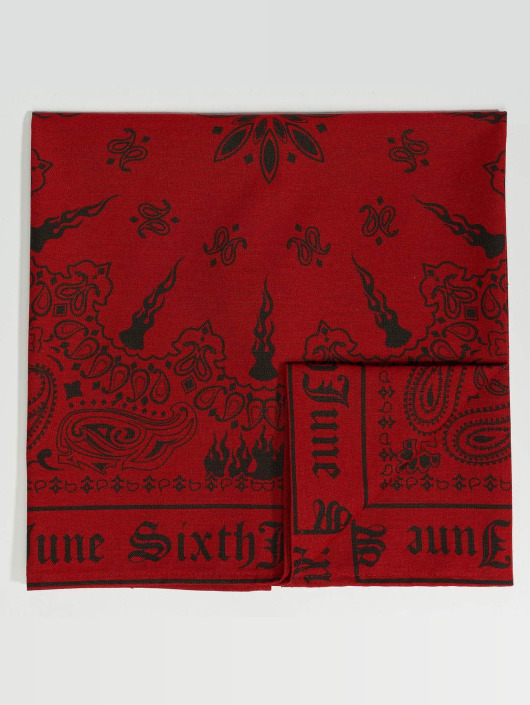 Sixth June Bandany/Durags Bandana czerwony