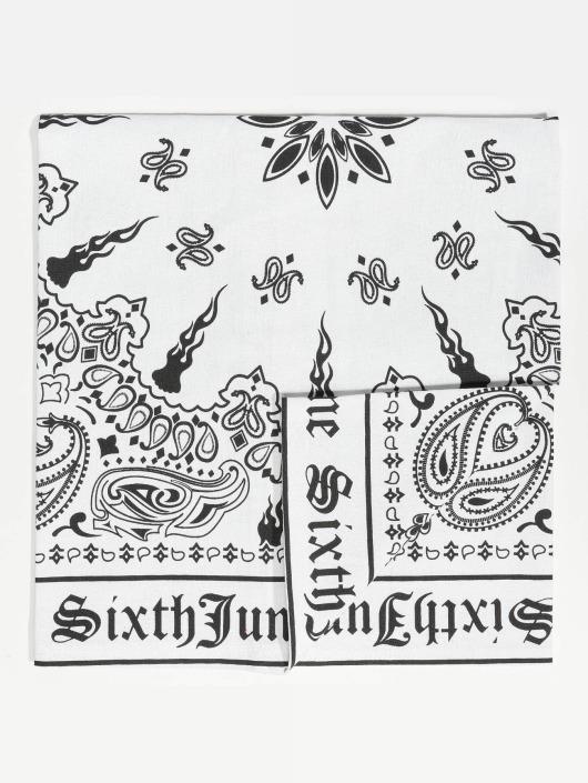 Sixth June Hodetørkler/Hodeskjerf Bandana hvit