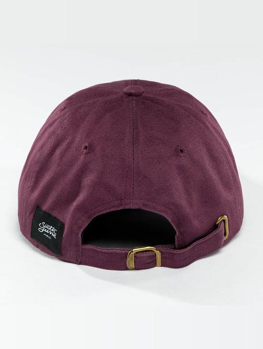 Sixth June Snapback Cap Logo violet