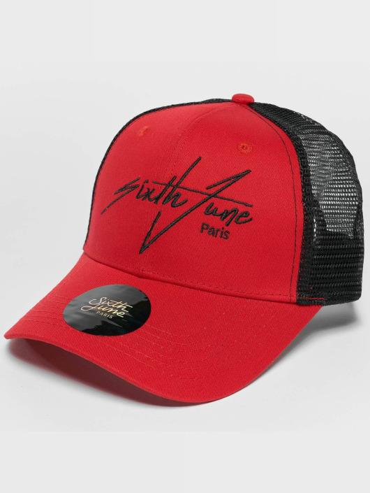 Sixth June Trucker Caps Trucker red