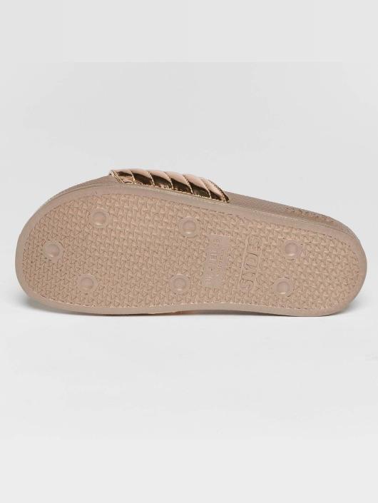 Slydes Sandals Port gold colored