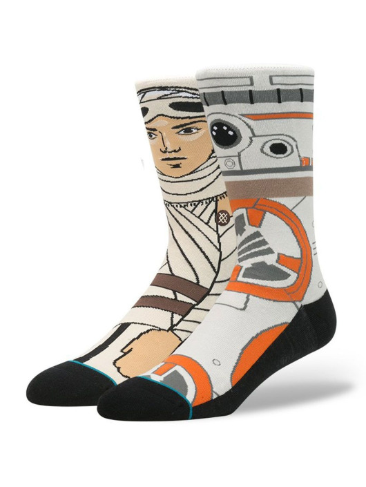 Stance Socken The Resistance grau