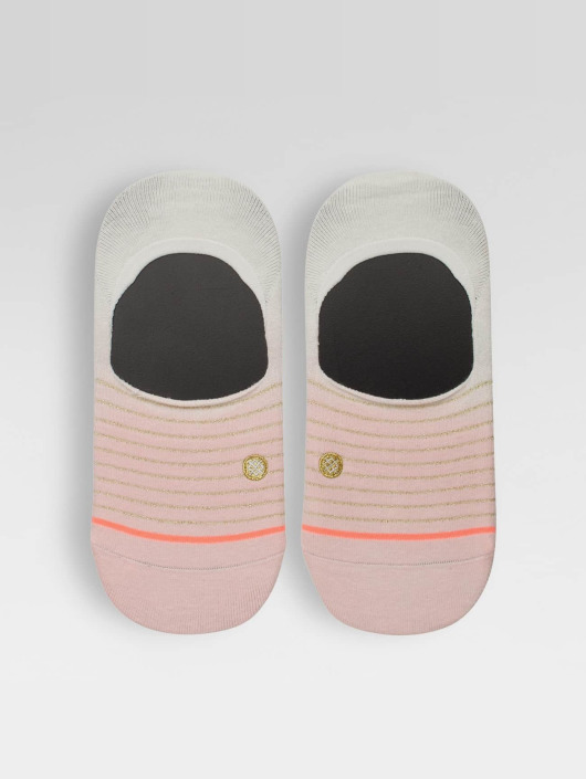 Stance Socks Dip Toe rose