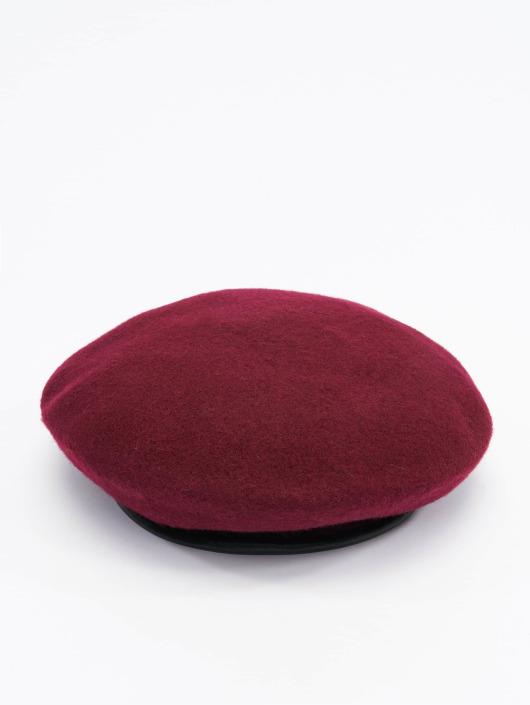 Stüssy Fitted Cap Military Beret czerwony