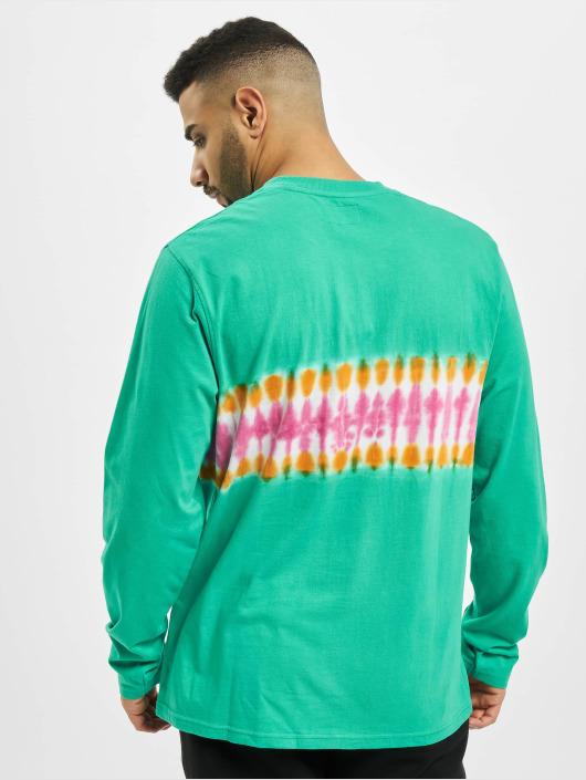 Stüssy Longsleeve Tie Dye Stripe L/SL Jersey grün