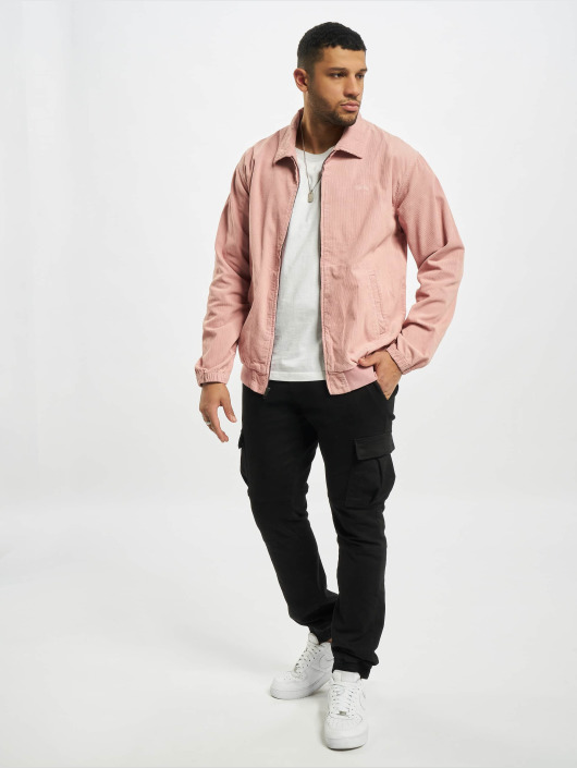 Stüssy Winter Jacket Bleached out cord pink
