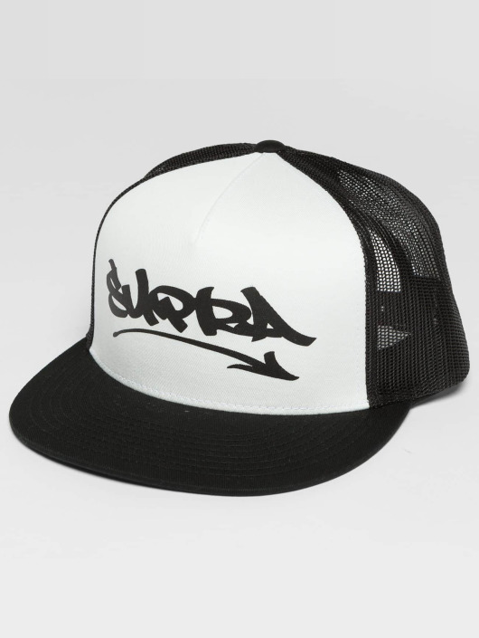 Supra Trucker Caps Marker czarny