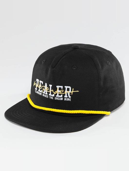 Tealer Snapback Cap Independent schwarz