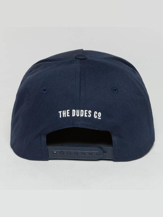 The Dudes 5 Panel Caps SNGAF blau